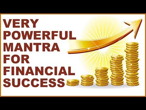 MANTRA FOR FINANCIAL SUCCESS : SU-SHA-HUM-BRAM : VERY POWERFUL