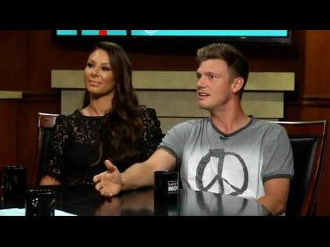 Nick Carter and Lauren Kitt Carter  on