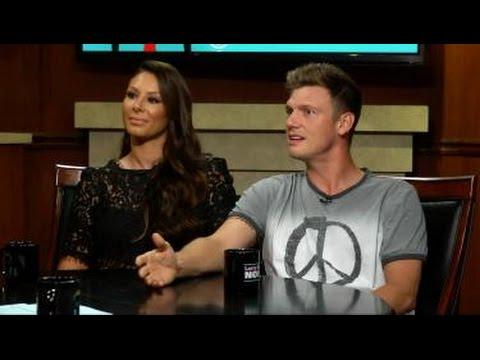 """Nick Carter and Lauren Kitt Carter  on """"Larry King Now"""" - Full Episode in the U.S. on Ora.TV"""