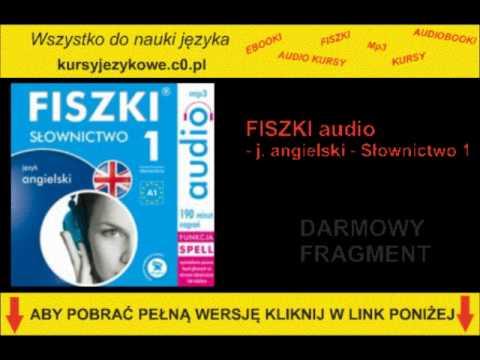SZYBKA NAUKA ANGIELSKIEGO - Słownictwo 1 - FISZKI Audio - MP3, AUDIOKURS