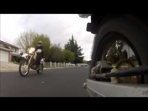 End of Ride Wheelie!