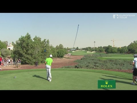 Rory McIlroy on Protracer