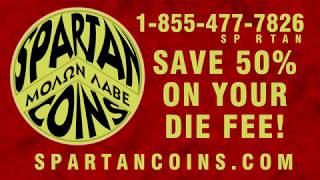 Cost Savings on Quality Custom Challenge Coins at SpartanCoins com