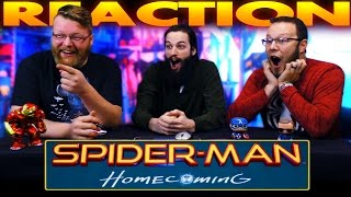 Spider-Man: Homecoming Official Trailer REACTION!!