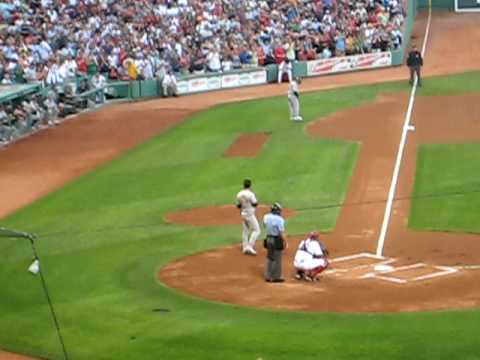 Nomar Garciaparra Returns To Fenway Park Video