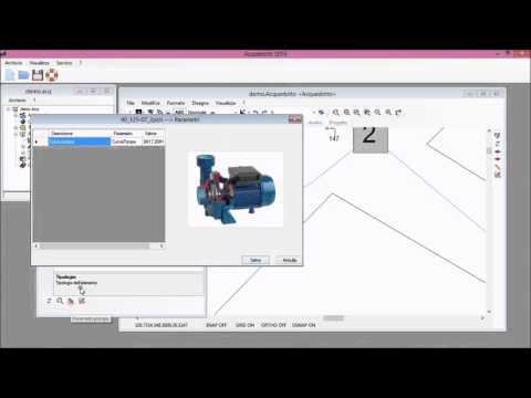 Software per la progettazione di reti idriche in pressione for Software di progettazione di mobili