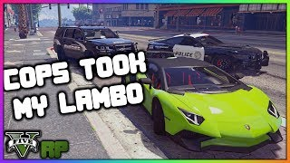 GTA 5 Roleplay - Cops Took My Lamborghini SV! | RedlineRP #18
