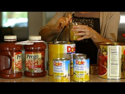 Canned Goods: Warehouse Shopping vs. Grocery Store Shopping