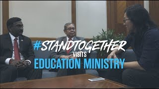 R.AGE: #StandTogether Visits Education Ministry
