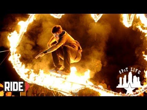 Chris Cole, Ishod Wair, & Kid Nutting Himself on Fire: Copenhagen Ring of Fire SPoT Life Event Check