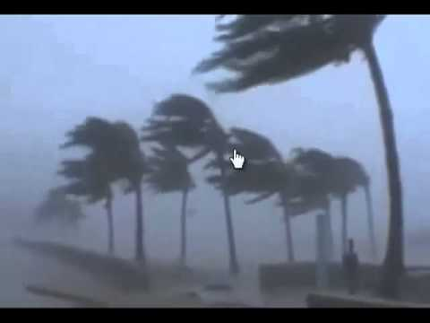 Cyclone in Orissa