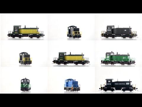 ARNOLD - Diesel-electric locomotives EMD SW1 type
