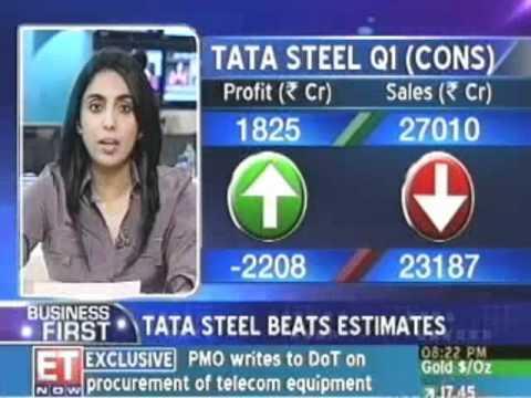 Tata Steel net profit at Rs 18.25 billion