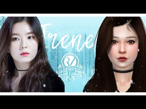 RED VELVET IRENE (아이린) + CC List & Download | Celeb CAS | The Sims 4