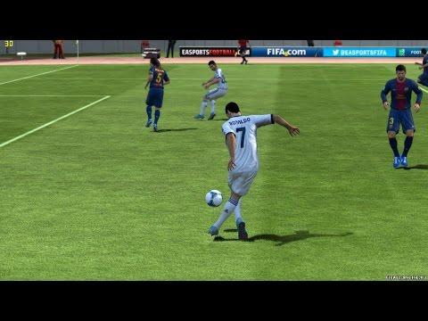 Как бить дальние удары в FIFA 14 - Thirty5Tech Videos