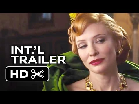 Cinderella International TRAILER 1 (2015) - Cate Blanchett, Helena Bonham Carter Movie HD