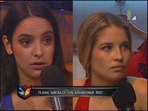 Valeria Florez y Flavia Laos discuten por eliminacion de Nicholas Wenzel y Ximena Hoyos
