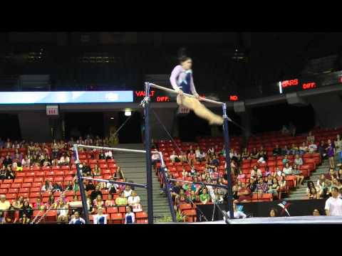 Ariana Guerra - Uneven Bars - 2012 Secret U.S. Classic