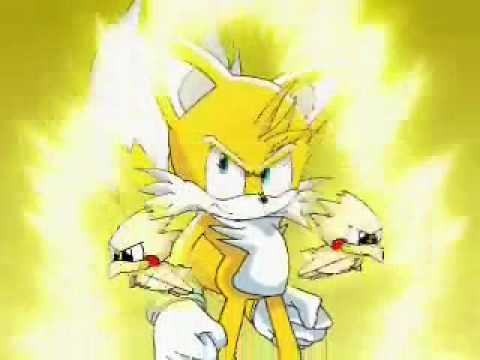 Super Sonic Super Tails And Super Knuckles Super Tails And Hyper Knuckles