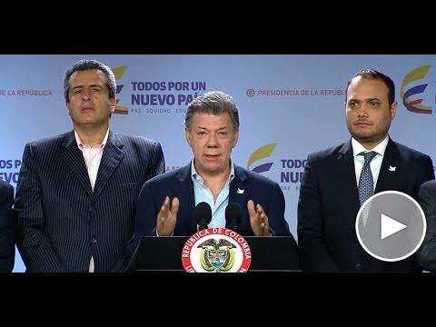 Declaración del Presidente Juan Manuel Santos - 19 de enero de 2016