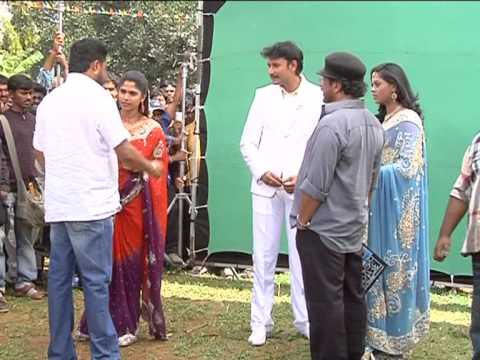 Darshan new movie.Brudhavana movie  pooja ..video_2