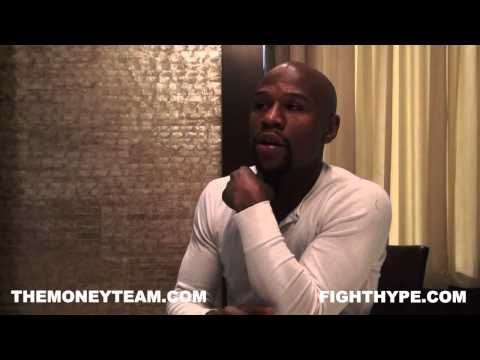 play video: FLOYD MAYWEATHER IN-DEPTH EXCLUSIVE ON MANNY PACQUIAO, BOB ARUM, AND OSCAR DE LA HOYA