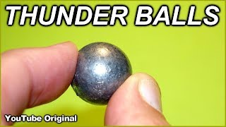 .73 Caliber (12ga.) Lead Balls    The biggest balls of them all