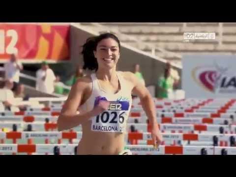 Спортивные приколы - позитивная бегунья из Австралии, видеоприколы, смешное видео