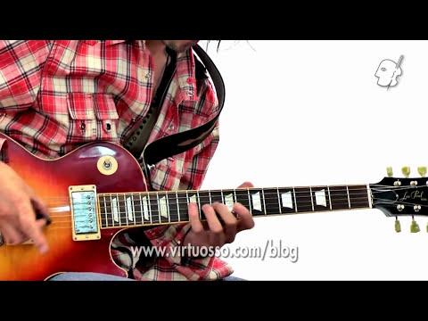 Curso de guitarra eléctrica - Arpegios con picking alternado