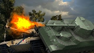 Тяжелый танк O-Ni: Танковый рейд по карте Мурованка