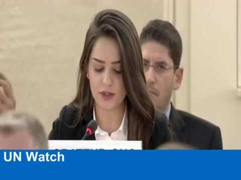 """Why has the U.N. waited so long?"" 21-year-old Iraqi Christian woman asks UNHRC session"