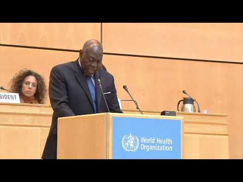 Statement by Fenton Ferguson, Minister of Health of Jamaica—68th World Health Assembly