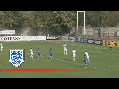 Italy U18s 2-0 England | Goals & Highlights