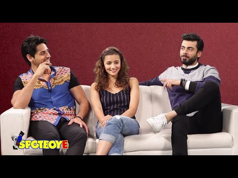 Alia Bhatt, Sidharth & Fawad get CANDID about their families | Full Interview | Kapoor & Sons