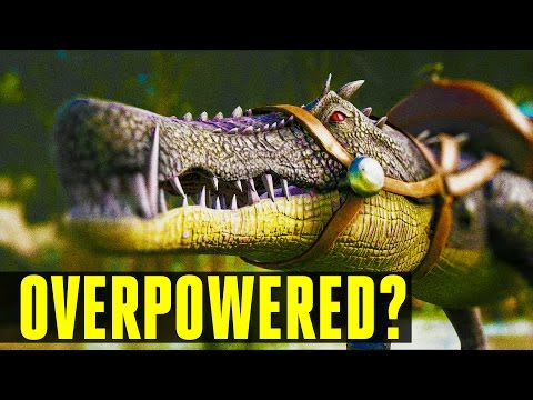 KAPROSUCHUS GAME BREAKING? How to tame/Everything you need to know! Ark: Survival Evolved UPDATE 248
