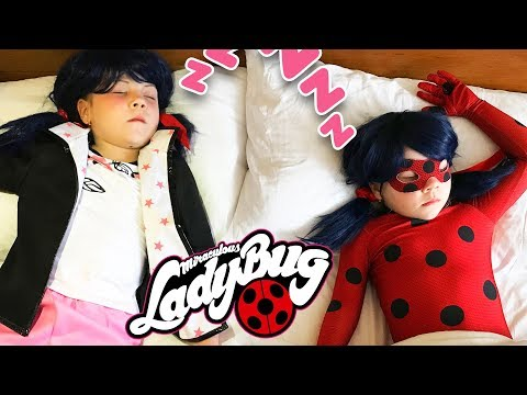 МОЁ УТРО ЛЕДИБАГ и МАРИНЕТТ My Morning Routine Miraculous LadyBug and Marinette, Chat Noir Adrien