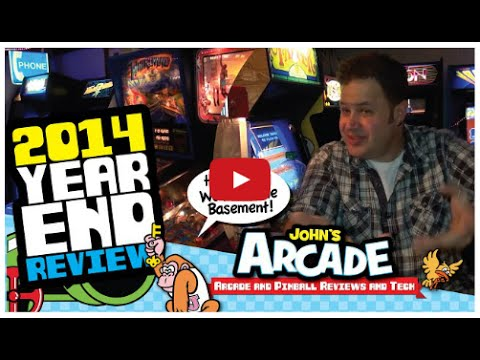 John's Arcade Tour Dec 2014 - YEAR END REVIEW! ALL ACCESS TOUR!