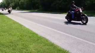 Women in the Wind  35th Annual all women Motorcycle Ride