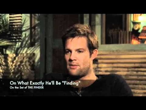 Geoff Stults Talks THE FINDER