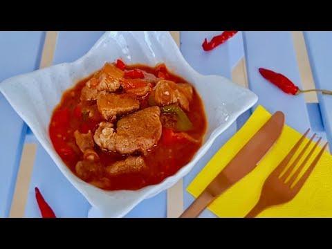 Горячее Блюдо, которое приведет Вас в восторг! Мясо в овощном соусе. Рецепты мясных блюд.