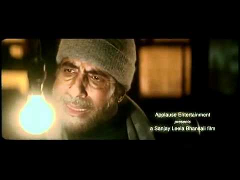 BLACK Hindi movie trailer Amitabh Bachchan   Rani Mukherjee   Ayesha kapoor