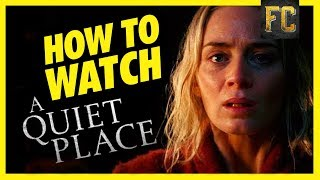How to Watch A Quiet Place (No Spoilers)+ Top 10 Horror Movies Like A Quiet Place | Flick Connection