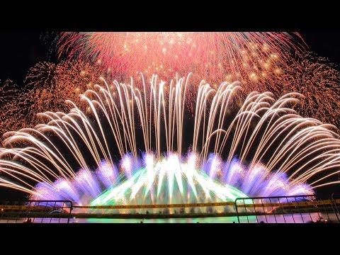 【4K】2015 桑名水郷花火大会 NTN超特大仕掛 第1部~第3部通しバージョン