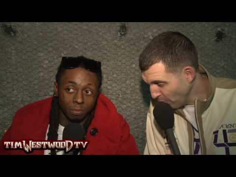 Westwood - Lil Wayne behind the scenes of video shoot and interview on jail sentence