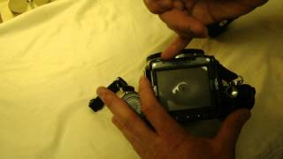 How to Fix Stop-down Metering on a Pentax 6X7
