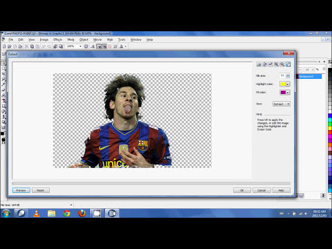 CorelDraw - Image Background Removal.wmv