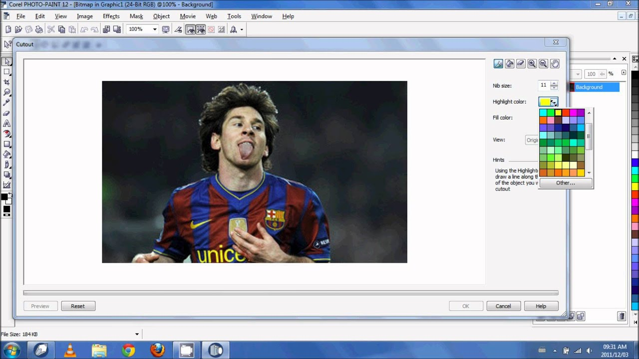 How To Change Background Colour In Corel Photo Paint