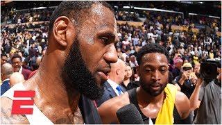 LeBron James, Dwayne Wade exchange praise after final game | NBA 2018-19