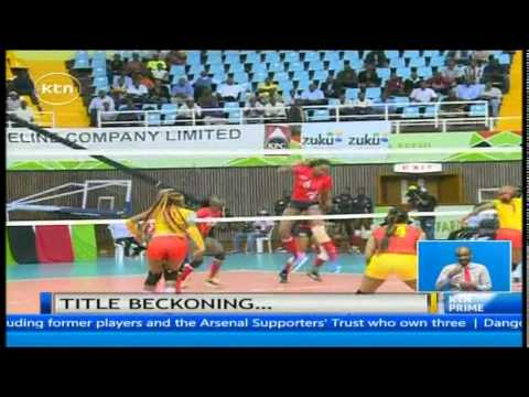 Kenya's volleyball team reaches final after beating Cameroon