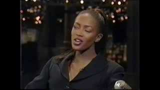 Naomi Campbell on Late Show With David Letterman 1995